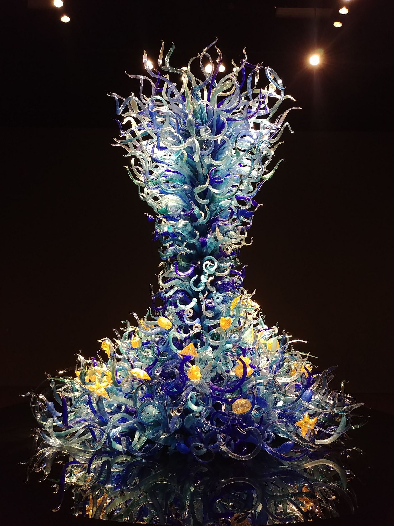 Chihuly Glass and Garden - 11 - Sealife tower