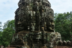 The Bayon Temple - another corner tower