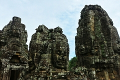 The Bayon Temple - crumbling towers