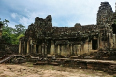 The Bayon Temple - inner wall