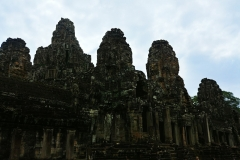 The Bayon Temple - row of towers