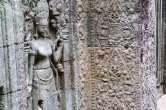 The Bayon Temple - sculpture