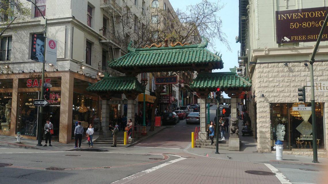 Walk in Chinatown